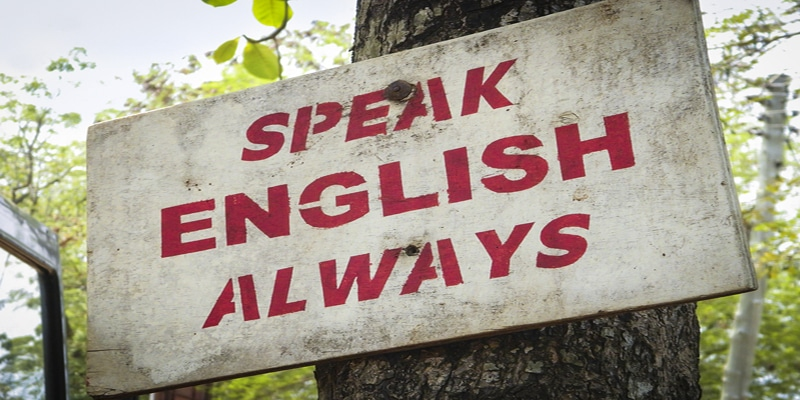 English Only in the EFL Classroom